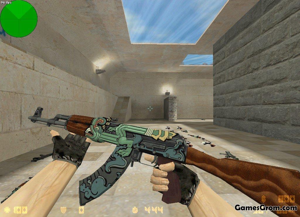 Раскраска оружия cs go