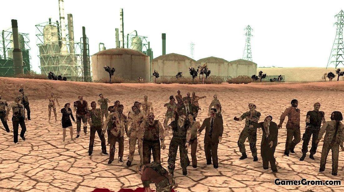 Gta san andreas zombie apocalypse скачать.