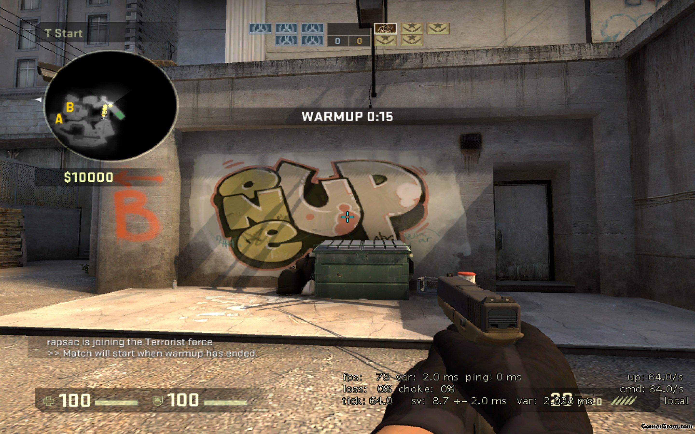 Как в кс го сделать граффити в 765