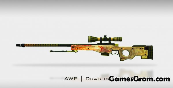 "Модель awp ""Dragon Lore"" для cs 1.6"