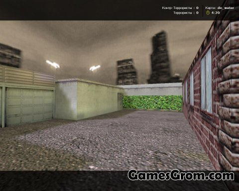 de_water карта для cs 1.6