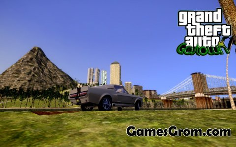 Мод Gostown Paradise Beta 0.066c RC2 для Gta San Andreas