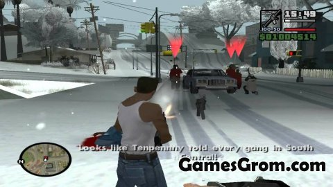 Мод GTA Snow San Andreas 2011 HQ