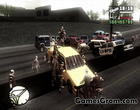Зомби мод GTA: The Walking Dead для San Andreas