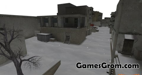 Карта De_Dust2Winter (зима) из CS:GO для cs 1.6