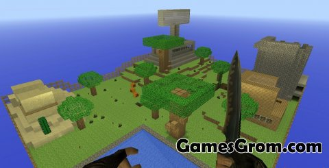 Zm_Minecraft карта для cs 1.6